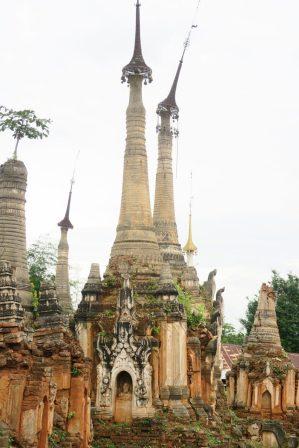 Les pagodes de Indein
