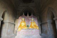 Icone double, assez rare (la plupart du temps il n'y a qu'un seul Bouddha)