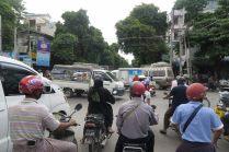 La circulation de Mandalay...