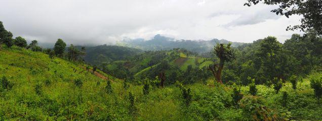 Les collines de Kalaw
