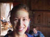 Elise après séance de maquillage local