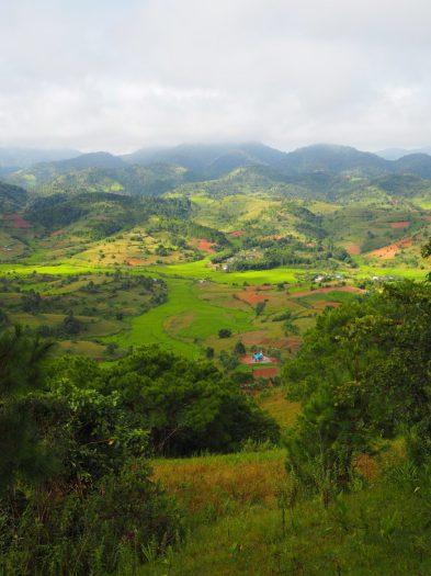 Vue sur les collines