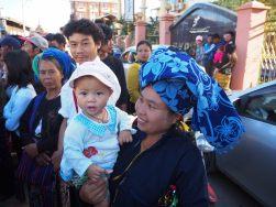 Festivités à Nyaung Shwe pour le festival Phaung Daw Oo