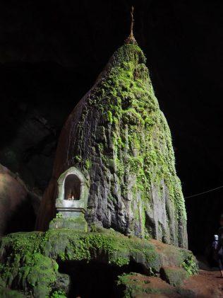 A l'intérieur de la grotte Sadan