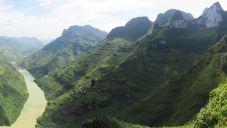 Vue depuis le col de Ma Pi Leng