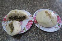 Le bánh bao : petite brioche à la viande (bánh signifie « gâteau » et bao, « envelopper »), cuite à la vapeur.