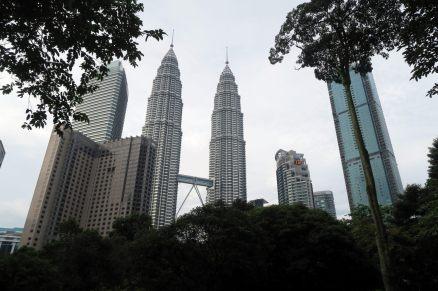 Les tours Petronas de jour