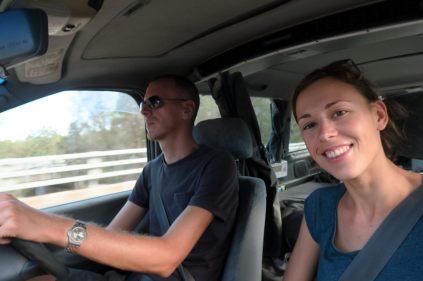 Sur la route avec le Campervan