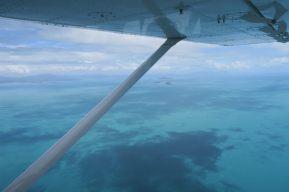 Vue sur la Grande Barrière de Corail depuis l'avion