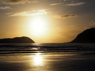 Lever de soleil sur Cape Hillsborough