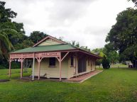 La vieille gare de Finch Hatton