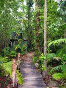 """Au camping écolo """"Platypus Bush Camp"""""""