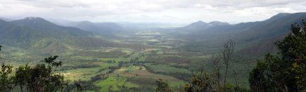 Panorama de la vallée