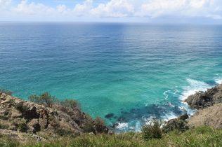Vue sur la mer depuis le phare