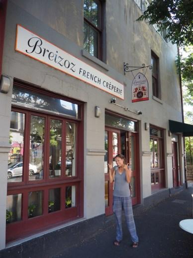 Une creperie bretonne à Melbourne !!!! Et ben on l'aura même pas testé ! tssssss