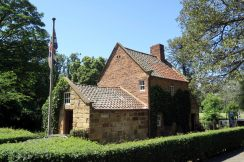 Cooks' cottage Fitzroy Garden