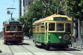 """Les vieux Tram de la """"circle line"""""""