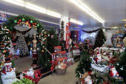 Une boutique de Noël à Melbourne