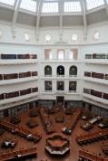 "Vue du dome du ""reading hall"" de la State Librairy of Victoria"
