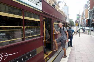 Dans le tram de la circle line