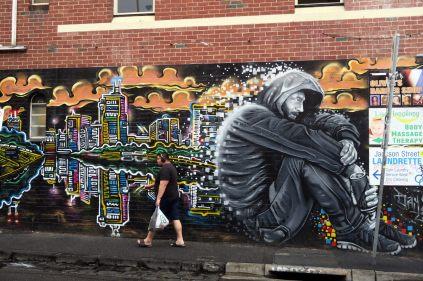Street art à St Kilda