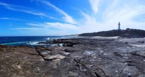 Le phare de Norah Head - panorama