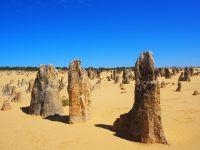 Le désert des pinnacles