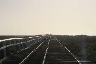 "La ""one mile jetty"" de Carnavon"