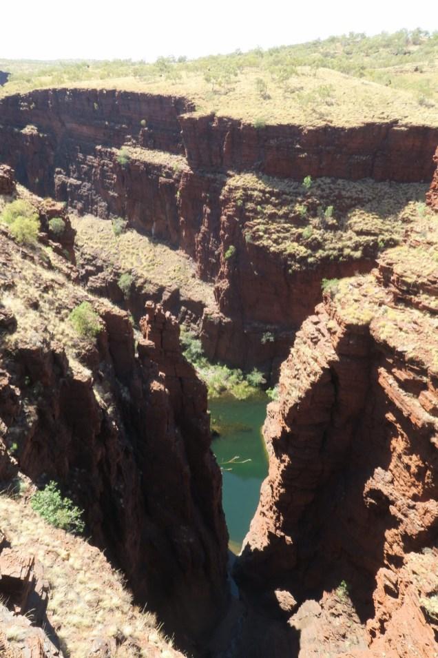 Junction pool depuis le Oxer lookout, ou se croise 4 différentes gorges !