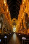 Dans la cathédrale Sainte-Marie (St Mary's Cathedral)