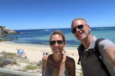 A la plage de Gnarabup