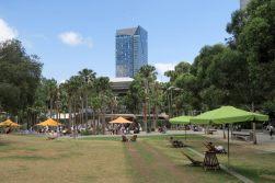 La zone aménagée de Darling Harbour, Sydney