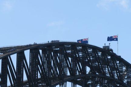 On peut grimper sur le Sydney Harbour Bridge