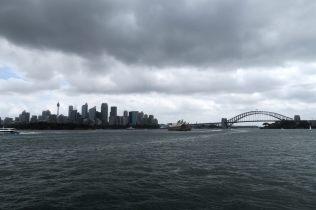 Vue de Sydney depuis le port