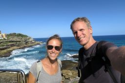 "Sur la ""coastal walk"" de Bondi à Coggee"