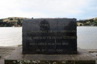 Mémorial de l'arrivée des premiers colons français