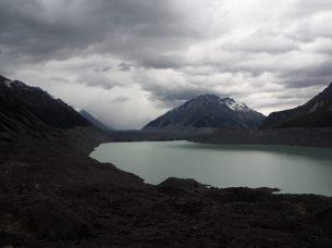 Le glacier et le lac Tasman