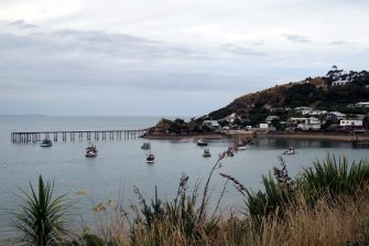 Petit port sur la côte