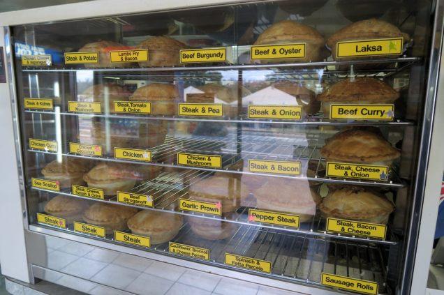 Selection de pies que l'on peut retrouver, comme dans le cas présent, dans les boulangeries