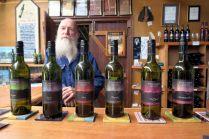 A la Pyramids Road winery, où Warren Smith nous a parlé longuement et avec passion de ses vins !