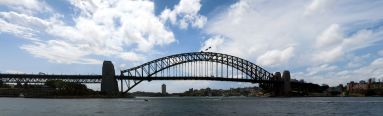 Panorama du Sydney Harbour Bridge