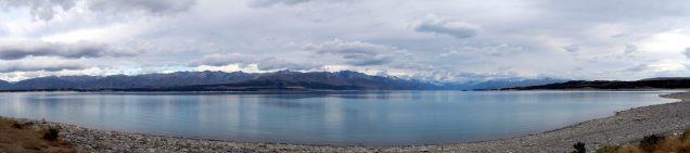Panorama du lac Pukaki