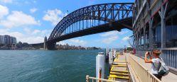 Panorama du Sydney Harbour Bridge