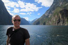 Julien à Milford Sound