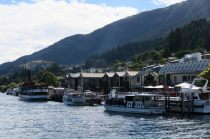 Le port de Queenstown
