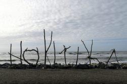 Hokitika et sa plage
