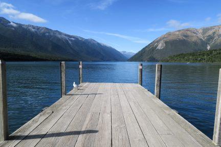 Le lac de Rotoita au Nelson Lakes National Park