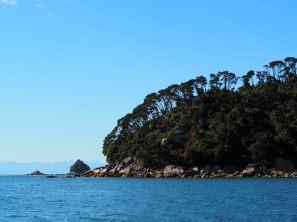 Paysages du parc depuis l'océan
