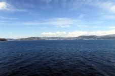 Terre, terre ! Au loin, Wellington...