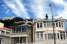 Wellington et ses maisons sur les collines